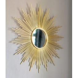 Miroir soleil doré - ATMOSPHERA