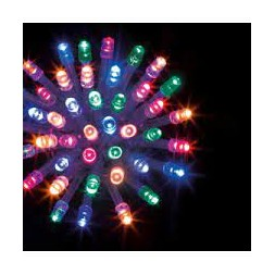 Guirlande lumineuse extérieure 240 leds multicolor