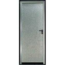 Bloc-porte  métal  galvanisé  890x2000mm gauche