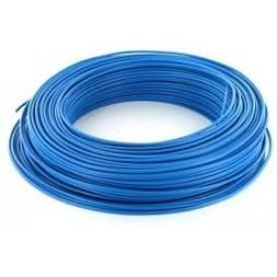 Fil H07VU 2.5mm bleu 100m