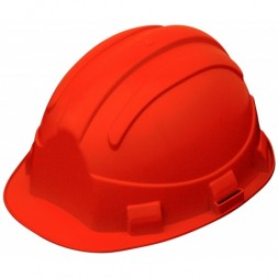 Casque de chantier opale orange - TALIAPLAST