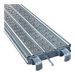 Plancher acier galva 300 x 300mm hauteur 7cm
