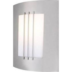 Luminaire extérieur inox E27 IP44 2x60w - GLOBO