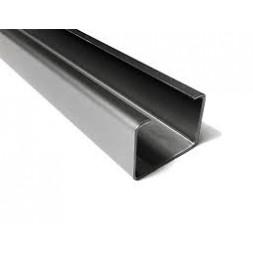 Profil  C   100 x 50mm épaisseur 2.5mm longueur 7m