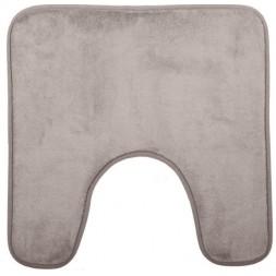 Tapis contour WC taupe - ATMOSPHERA