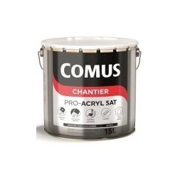 Comus CHT pro-acryl blanc satiné 15L