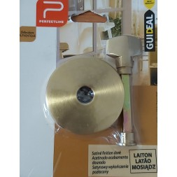 Gache laiton cylindre satine dore