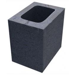 Bloc us  à crépir  pierre poteau 15x20x20cm (prévoir consignation palette) - SCPR