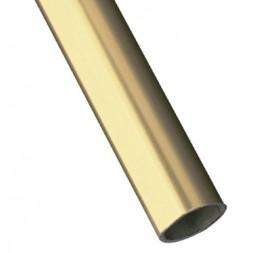 Tube d'ameublement 1-20X18 doré 2M - AMIG