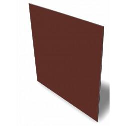 Panneau aluminium chocolat laque 2 faces 1500 x 3050 x 3mm