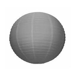 Suspension boule japonaise gris