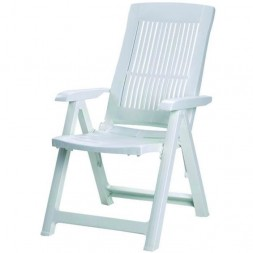 Chaise blanche Tampa