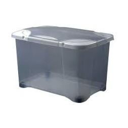 Coffre Clip'Box gris 40L