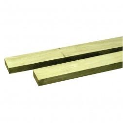 Lambourde pin traité classe IV 3.3 x 7 x 240cm