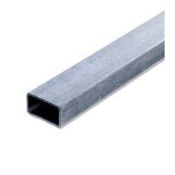Tube  rectangle  pré-galvanisé 50 x 30mm ép 1.5mm long 6m00