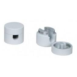 Passe-câble blanc x 2 - TIBELEC