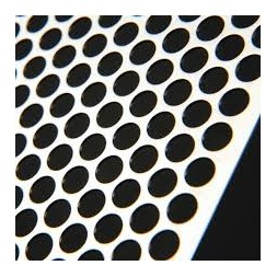 Tôle perforée aluminium décoratif D513 1000 x 2000 x 1.5mm
