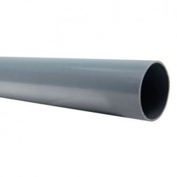 PVC  évacuation  Ø125mm x 6m
