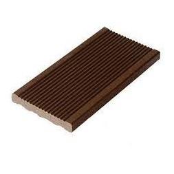 Lame de terrasse alvéolaire chocolat  21 x 150 x 2850mm