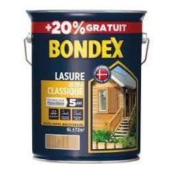 Lasure ultra classique chêne doré 5+1L - BONDEX