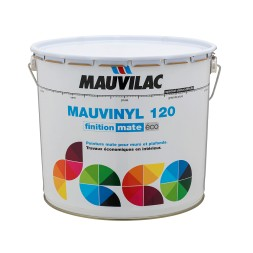 Mauvinyl 120 blanc 12l