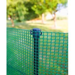 Poteau installation rapide vert 1.25m