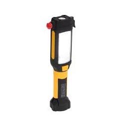 Lampe torche LED multifonctions noire