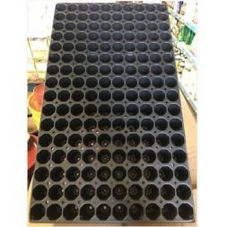Plaque De Bouturage Noir 160 Trous Ref 49160091
