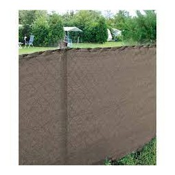 Brise-vue taupe 2 x 10m - PROVENCE OUTILLAGE