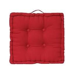 Coussin de sol rouge