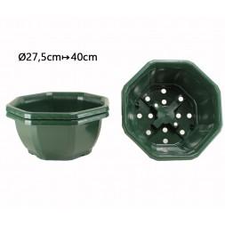 Coupe décorative verte