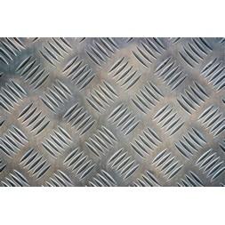 Tôle aluminium damier 1250 x 2500 x 2/3.5mm
