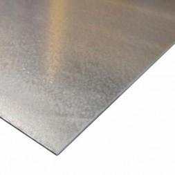 Tôle  plane  galvanisée 2m x 1m  ép   75/100e