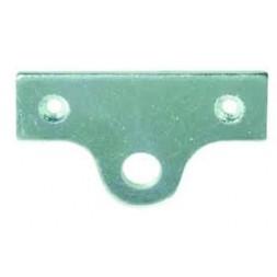 Platine porte-cadenas en acier - AFBAT