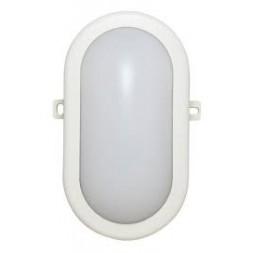 Hublot ovale 5,5w IP54 blanc - TIBELEC