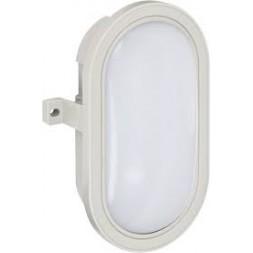 Lampe LED ovale gris IP44 10w 800 lumens