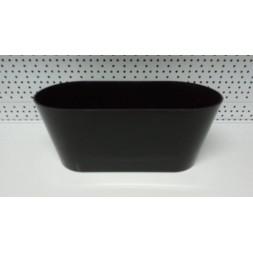 Jardinière Porto noir