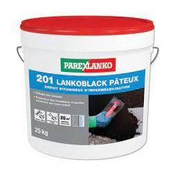 Lanko 201 noir pâteux 25kg - PAREXLANKO
