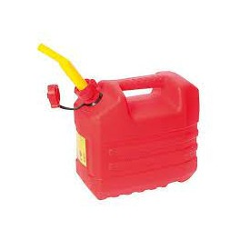 Jerrican hydrocarbure rouge 10L