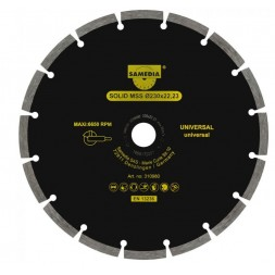 Disque 125 x 22.23mm - SOLID MSS
