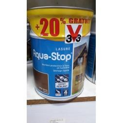 Lasure aqua stop chêne moyen 5l+20%