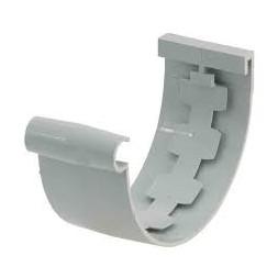 Jonction gouttière 25mm gris