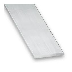 Plat aluminium brut 20 x 2mm x 2m - CQFD