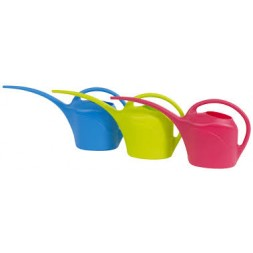Arrosoir bec long 2.5l coloris bleu/vert/jaune - BELLI