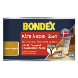 Pâte à bois 2 en 1 chêne moyen aspect mat - BONDEX