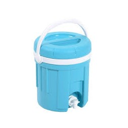 Fontaine 4 litres turquoise/ blanc 23.3x26cm