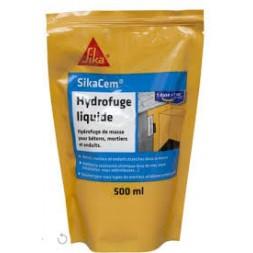 Sikacem hydrofuge liquide dose 0.5l - SIKA