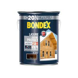 Lasure bois Ultim'protect chêne rustique 5L +20% - BONDEX