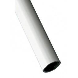 Tube d'ameublement 1-20X18 blanc 2M - AMIG