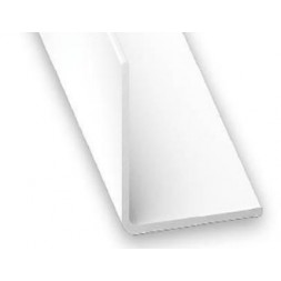 Cornière pvc blanc 40x40mm 2m - CQFD